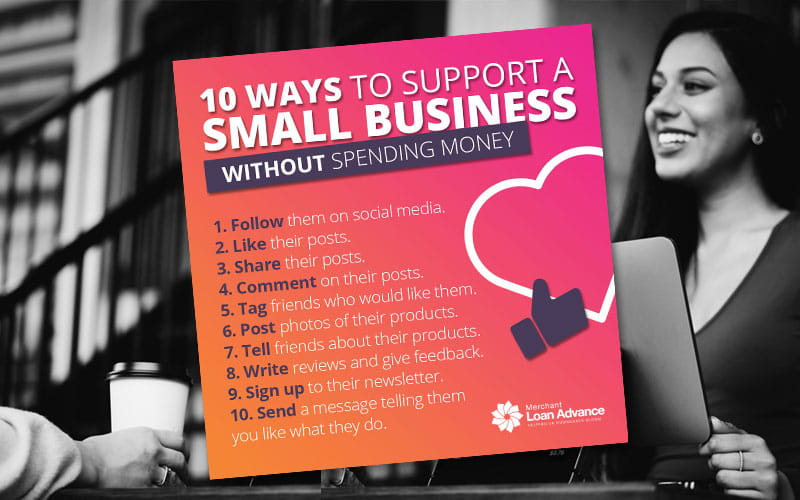 How to support a small business without spending money image