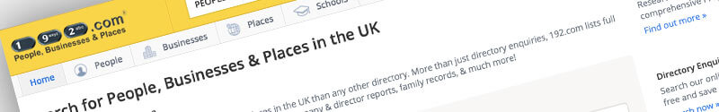 192.com Free UK Business Directory