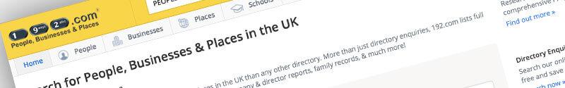 192.com Free UK Business Directory