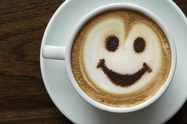 Image result for smiling coffee