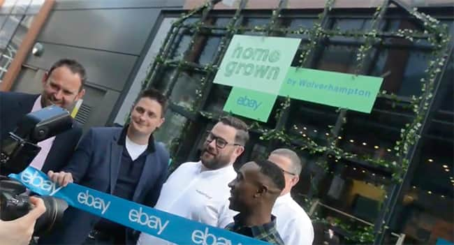 eBay opens its first brick and mortar concept store to support small businesses image