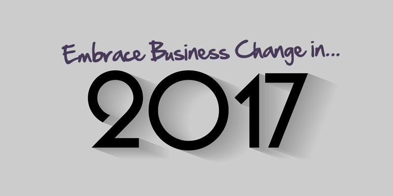 Embrace Business Change in 2017 image