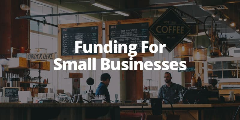 Funding for small businesses image