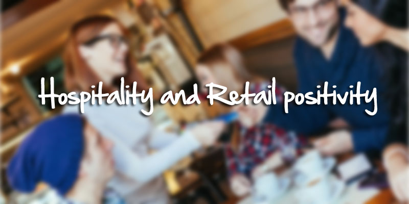 Hospitality and Retail positivity image