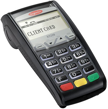 iCT220 from Ingenico - Best Countertop Credit Card Machine