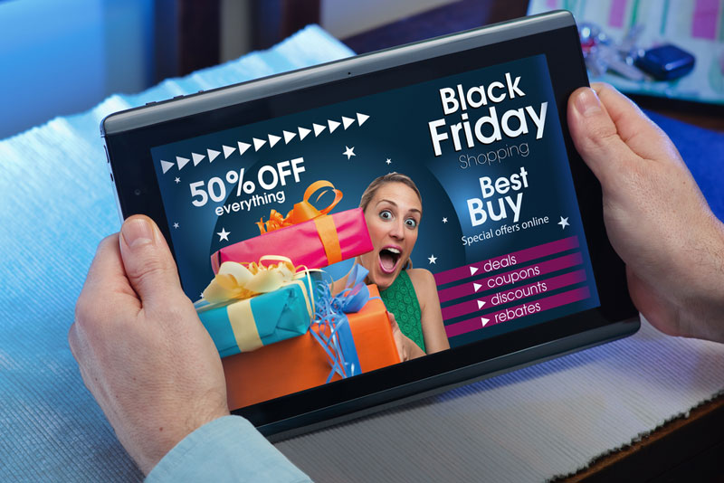 Online Black Friday and Cyber Monday steals show from Retail image