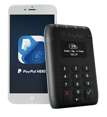 Paypal Credit Card Machine