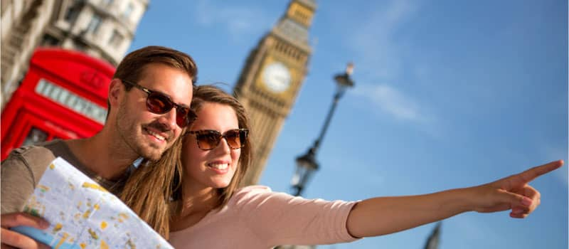 Tourism and visitor numbers boosting UK economy image